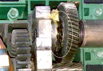 Ударный механизм на дрели
