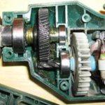 Устройство электрической дрели