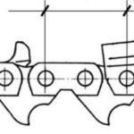 Какой бывает шаг цепи бензопилы и на что он влияет?